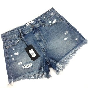 Paige Babes Jean Cutoff Shorts